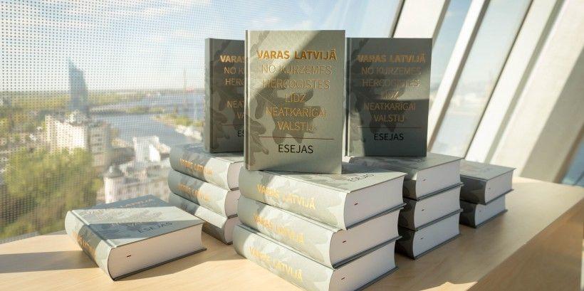 """Eseju krājums """"Varas Latvijā. No Kurzemes hercogistes līdz neatkarīgai valstij"""""""